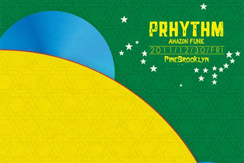PRHYTHM 2011/12/30@PINE BROOKLYN,Osaka