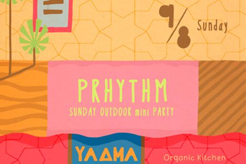 PRHYTHM 2013/9/8@Organic Kitchen Le Coccole,HONMACHI,OSAKA